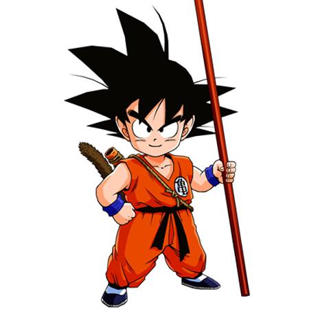 gambar Son Goku saat masih kecil