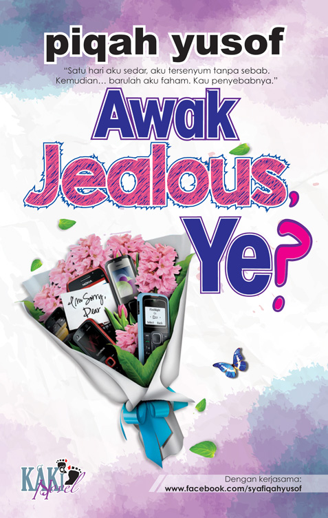 Review Novel ~ Awak Jealous Ye? By Piqah Yusof