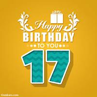 Ucapan Selamat Ulang Tahun untuk Kekasih ke 17