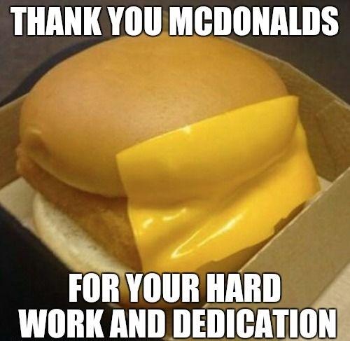 Thank You MCDONALDS