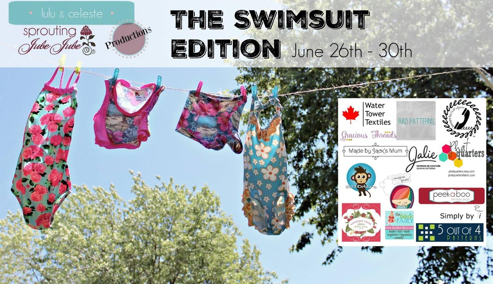 48bedfbdb70 FABulous Home Sewn: Modest Swimwear! A Blog Tour