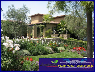konsep taman meditrania (gardensmartindo)