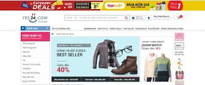 Quần áo online trên các trang thương mại điện tử
