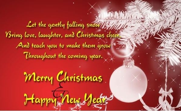Superb Merry Christmas And Happy New Year Quotes