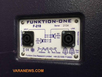 Foto amplifier funktion one F218