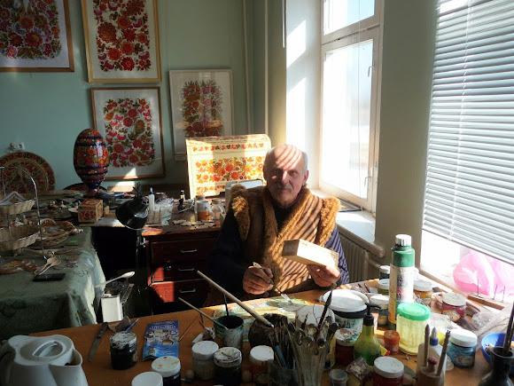 Петріківка. Центр народної творчості «Петріківка». М. В. Дека – художник петріківського розпису
