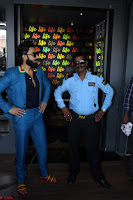 Ranveer Singh in Blue Blazer Spotted Life Bar ~  Exclusive 07.JPG