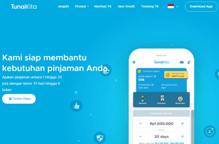 Aplikasi Pinjaman Online Tunaikita Pinjol