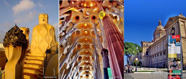 Barcelona: a arte de Gaudi em La Pedrera e na Basílica da Sagrada Família
