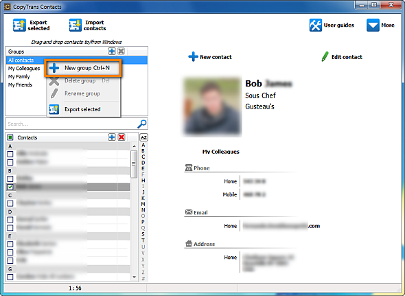 How to transfer contacts from pc to iphone using ifunbox xp