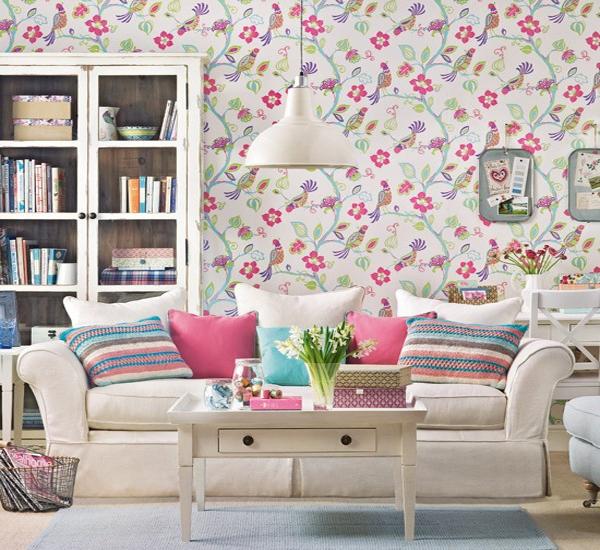 Wallpaper Alam Indah Untuk Ruang Tamu ~ Desain Rumah