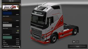 Route Skin for Volvo 2012