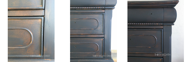 distressing directions, distressing instructions, step by step directions to distress furniture properly, get a weathered look for furniture