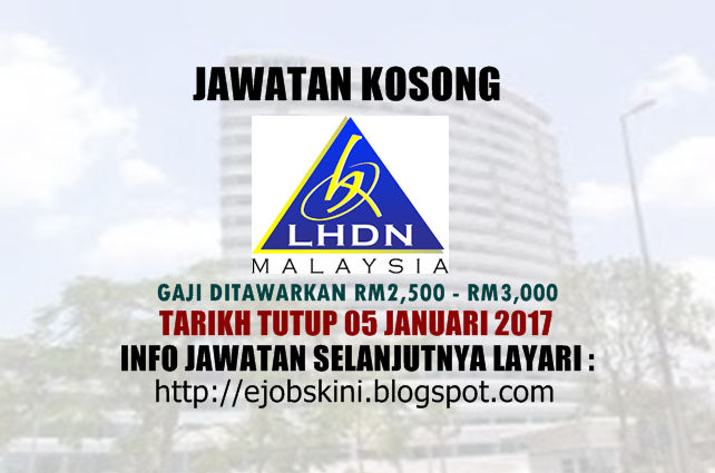 Jawatan Kosong LHDN