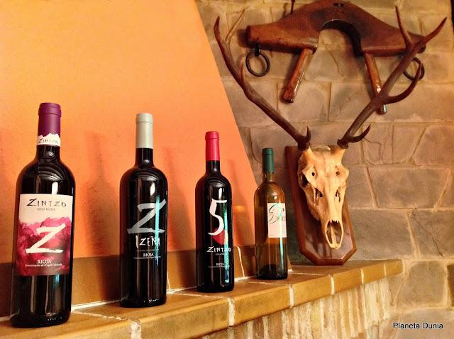 Vinos de Bodegas Zintzo