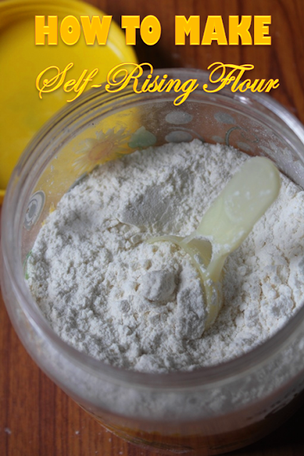 Homemade Cake Mix Recipe With Self Rising Flour