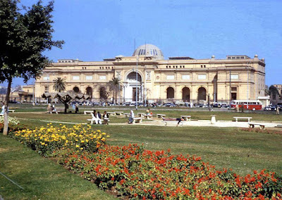 The Egyptian Museum in Cairo in 1960s