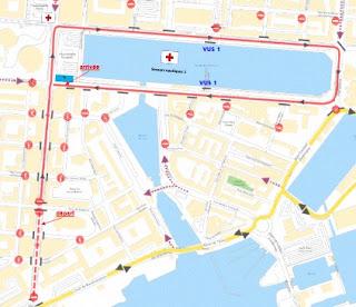 Parcours corsiflor 2017 Le Havre 20 août 2017 Corso fleuri Trajet Chemin