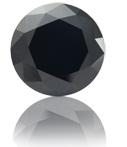 Lab Made Black Color Diamond