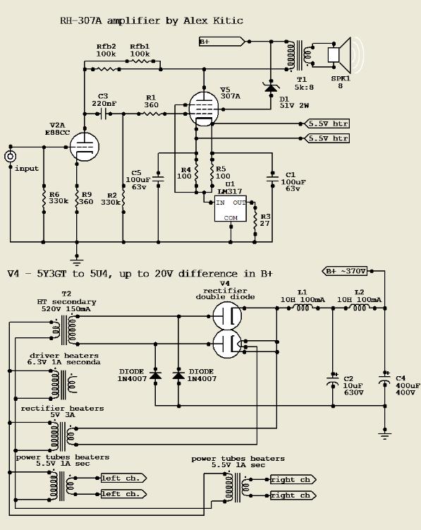 RH Amplifiers: RH-307A