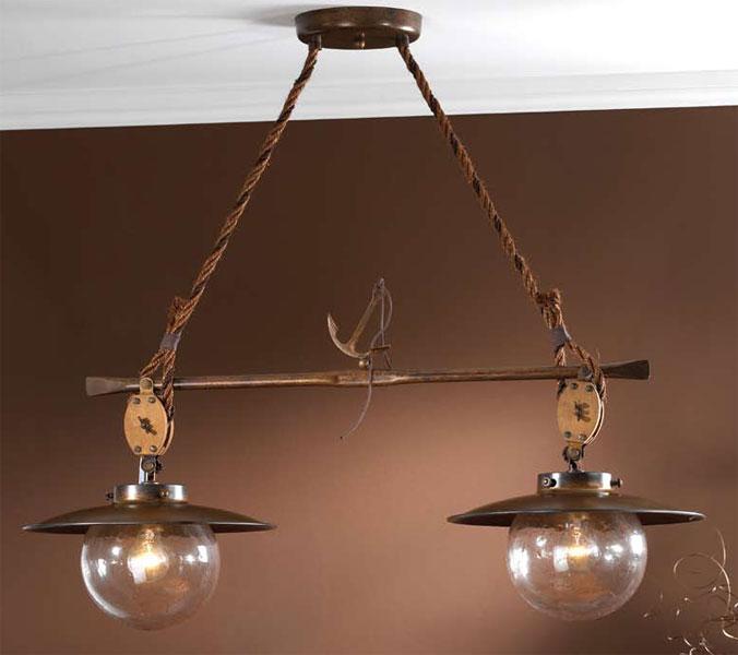 La web de la decoracion y el mueble en la red lamparas coloniales serie cadernal - Lamparas techo rusticas ...