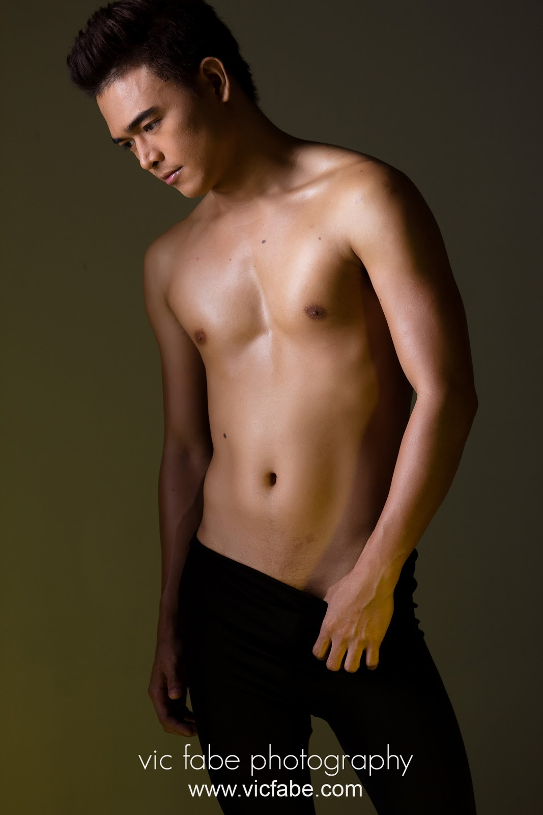 Shirtless Asian Male 33