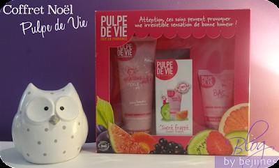 Coffret cosmétiques Bio : Pulpe de Vie