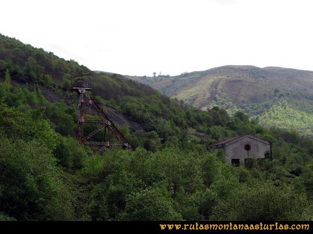Ruta Ablaña Llosorio: Castillete en Ablaña