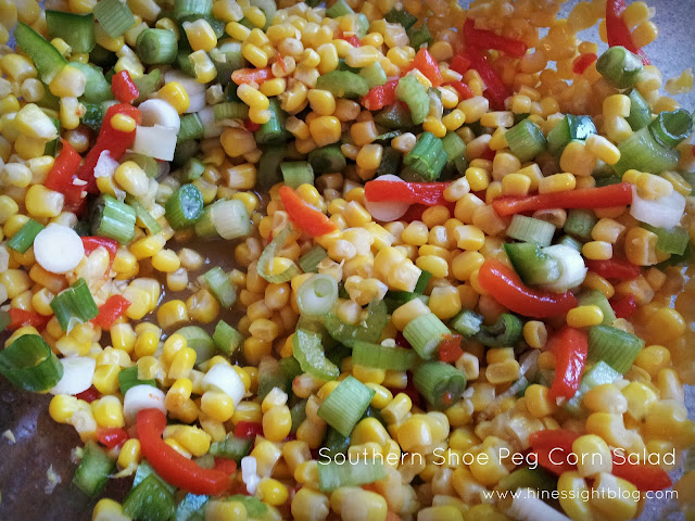 easy, shoepeg corn salad
