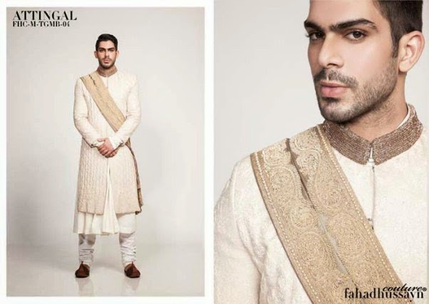 News Fashion Styles Couture Bloodline Wear Collection 2014 By Fahad Hussain