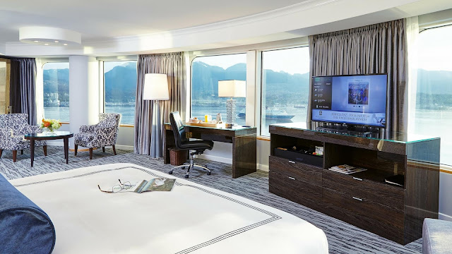 Experience the comforts of Pan Pacific Waterfront Vancouver Hotel. Panoramic views of the harbour, mountains, Stanley Park, and more. Book today.