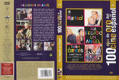 Carátula dvd: Ha llegado un ángel (1961)