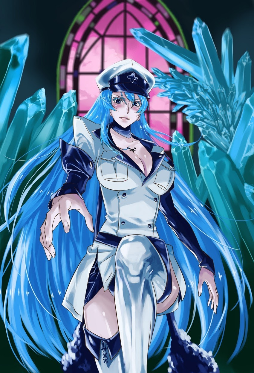 Akame ga kill esdeath hentai