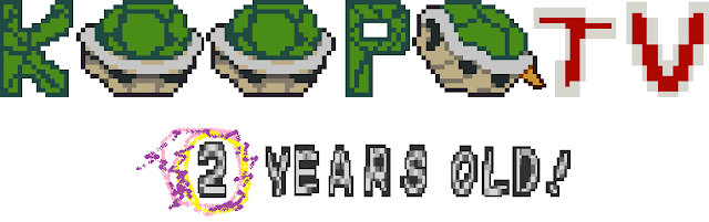 KoopaTV turns two 2 years old birthday anniversary Nintendo videogame blog commentary site website