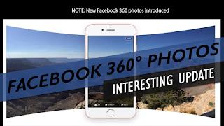 New Facebook 360 photos - Introduced!!