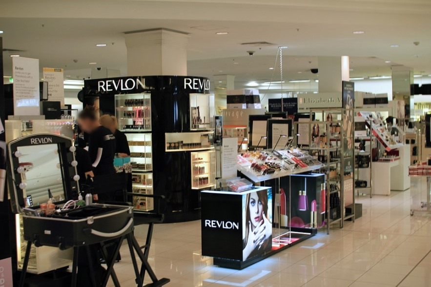 beauty department of store