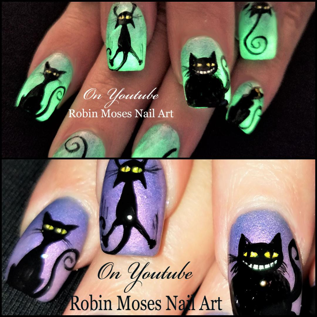 Nail Art by Robin Moses: Spider Nails! Easy 3d Halloween ...
