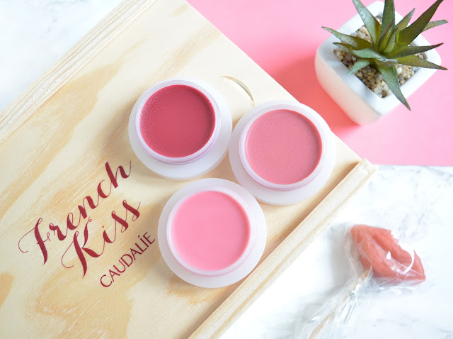 Caudalie: French Kiss Tinted Lip Balms
