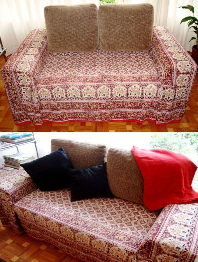 Renove seu sof com criatividade e pouco dinheiro  Casas