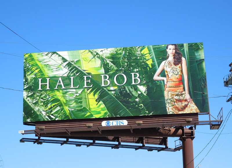 Hale Bob tropical Spring 2013 billboard
