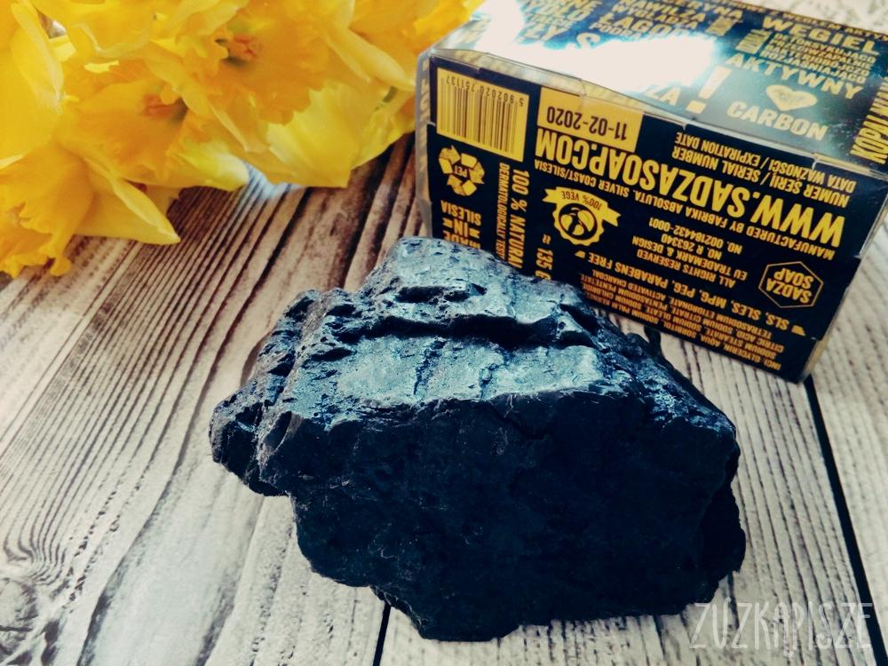 SADZA SOAP Mydło z węglem aktywnym