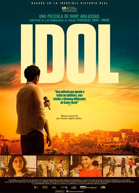 Póster y tráiler de 'Idol', basada en la increíble historia real de Mohammad Assaf