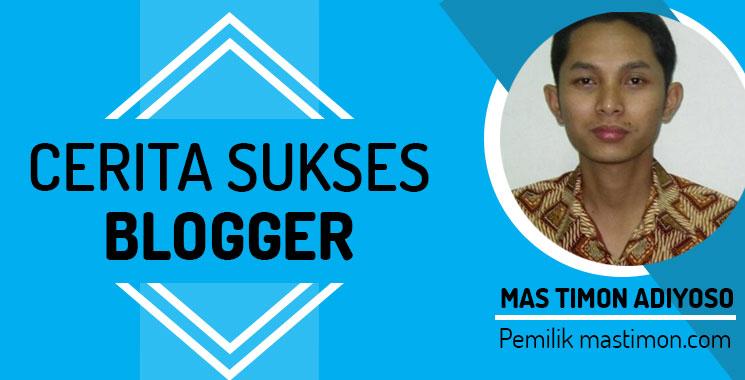 Cerita mastimon mendapatkan uang dari Blogger