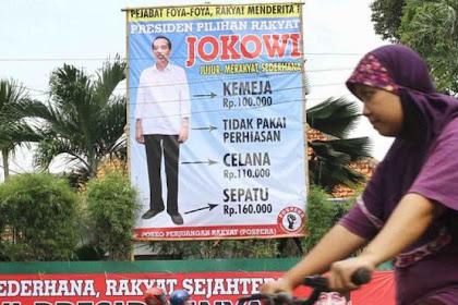 Sepatu Mahal, Gaji Tinggi, Jokowi Disebut tak Lagi Sederhana