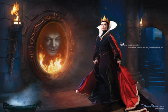 olivia wilde as the evil queen