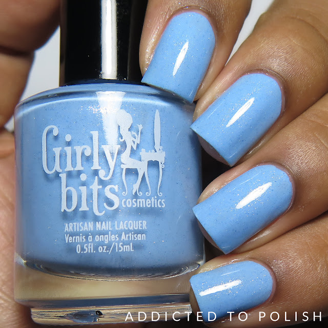 Girly Bits Bleu de tes Yeux Sweet Nothings Collection
