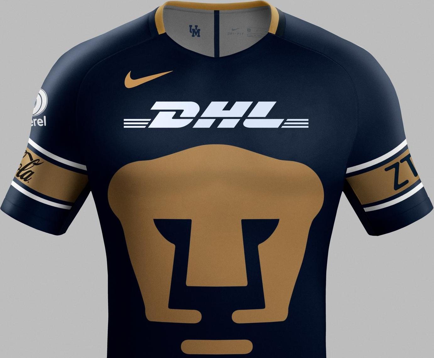 Nike divulga as novas camisas do Pumas do México - Show de Camisas adb2bd64a670c
