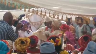 Di'ja & hubby Rotimi wedding pictures