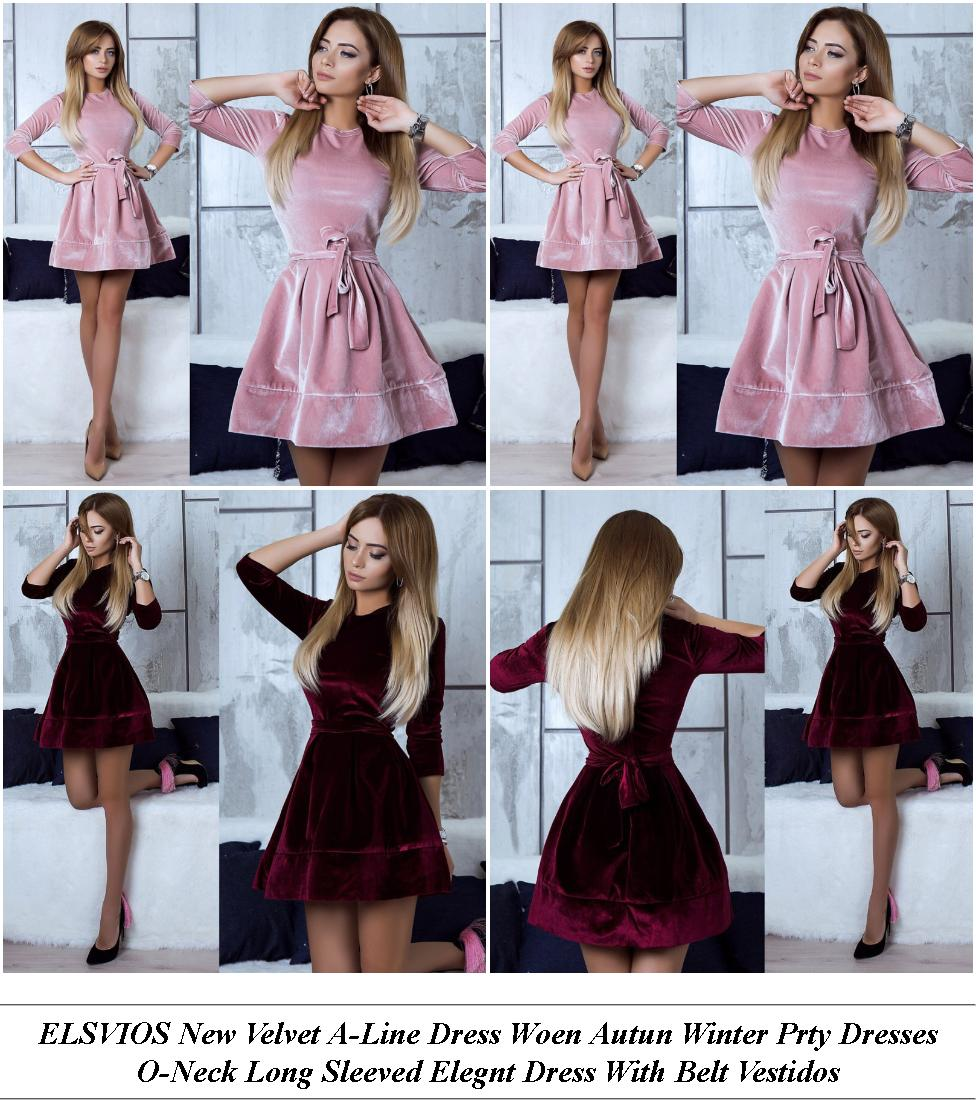 Long Sleeve Dress Ladies - Biggest Clearance Sale Online - Red Formal Dress For Wedding Guest