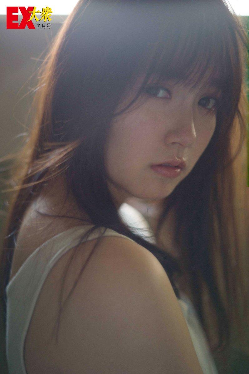 Nakamoto Himeka 中元日芽香 Nogizaka46, Ex-Taishu 2017.07 (EX大衆 2017年07月号)